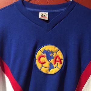 176dbefcf00 club america Shirts - Club America Aguilas Mexico retro tee.